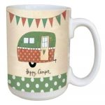 LM46984 - Happy Camper Tree Free Ceramic Lovely Mug