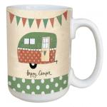 LM46984 - Happy Camper Tree Free Ceramic Lovely Mug