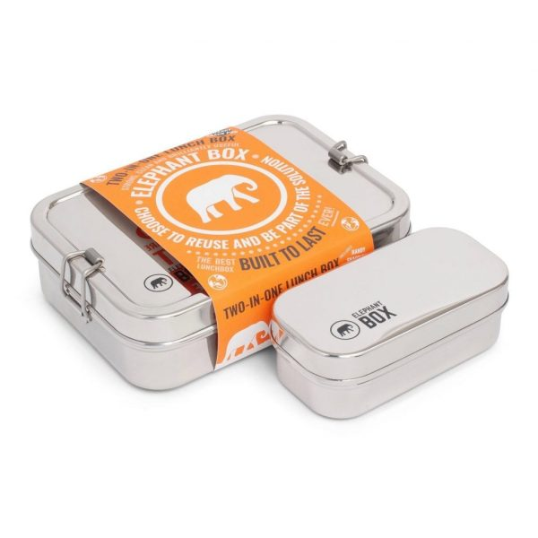 Elephant Box lunch boxes zero waste living