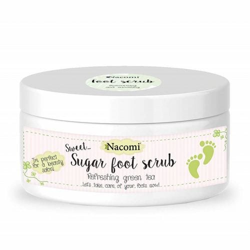 Nacomi - Body - Foot scrub - Refreshing green tea