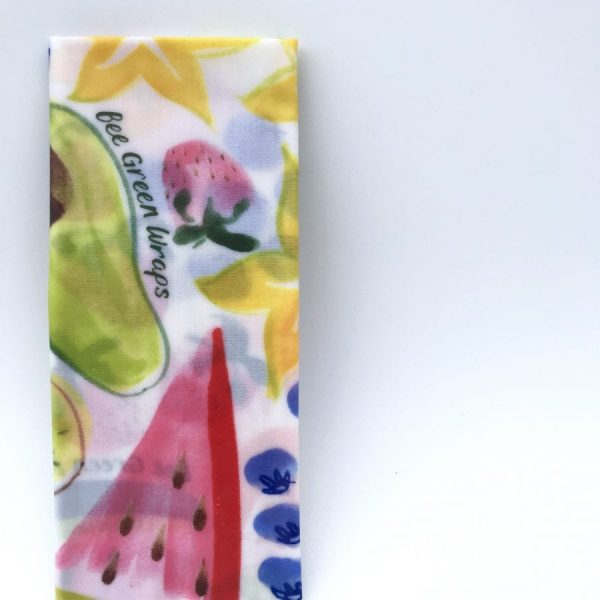 Bee Green Wrap Reusable sandwich wrap fruit