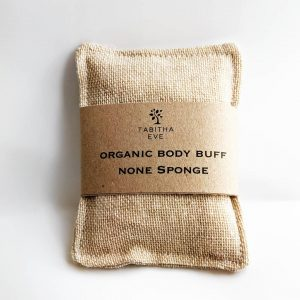 Organic Cotton Body Buff - Gentle Exfoliator