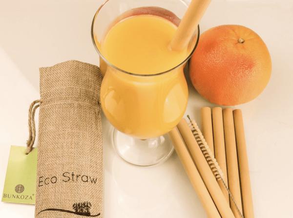 eco straw bamboo bunkoza