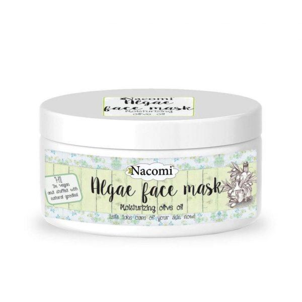 Nacomi Natural Algae Face Mask Moisturizing Olive Oil