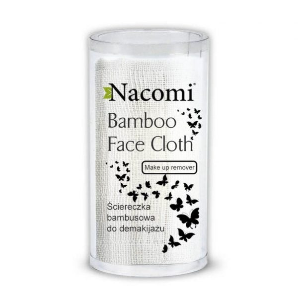 Nacomi Natural Bamboo Face Cloth for Makeup Remover