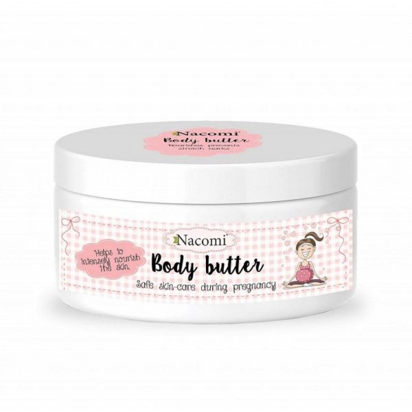 Nacomi For Pregnant Women Natural Body Butter