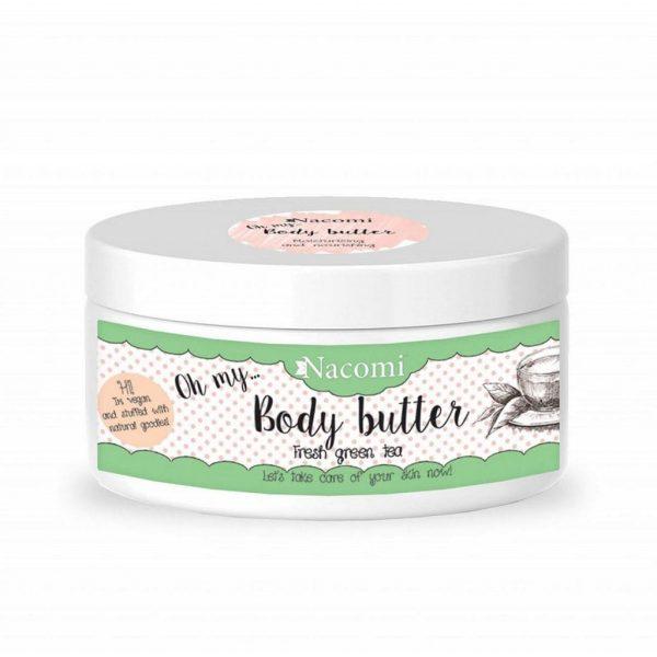 Nacomi - Body - Body butter - Refreshing green tea