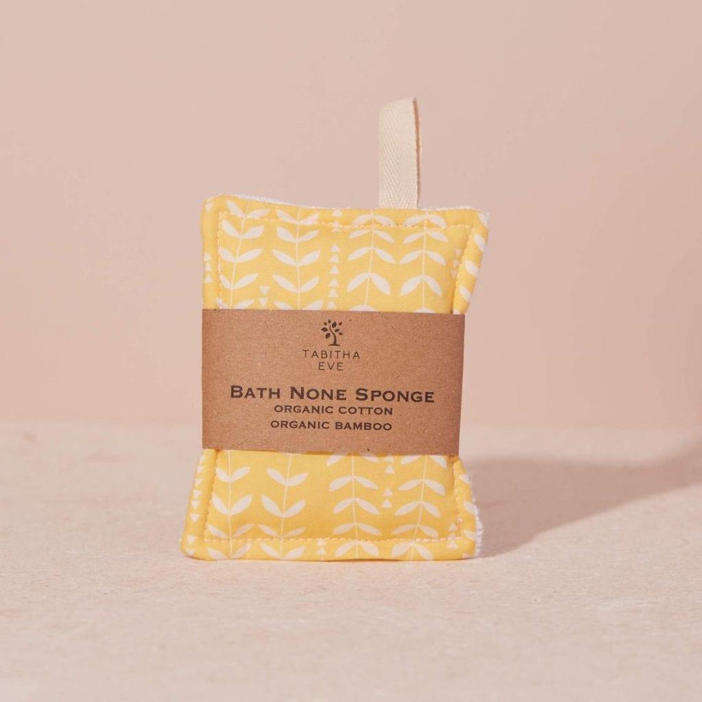 Bath None Sponge Bees Yellow Orla