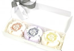 Gift Box 3 x Two Bath Bomb Fizzer by Agnes+Cat