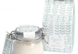 Soy wax candle Kilner Jar Candle - Dolly Blue