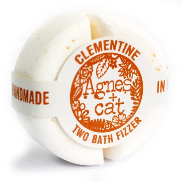 Two Bath Bomb Fizzer by Agnes+Cat