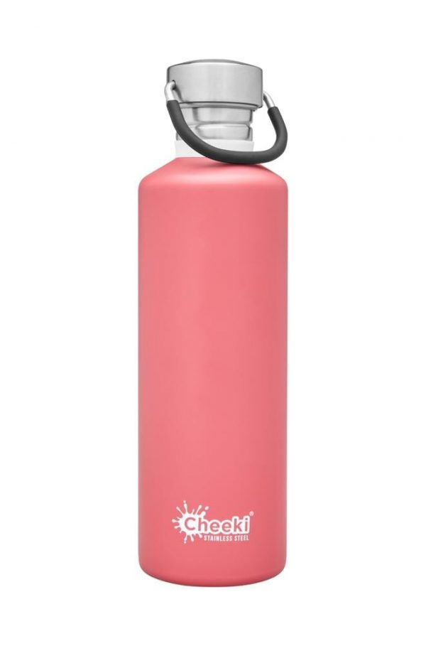 750ml Dusty Pink Reusable Water bottle Cheeki