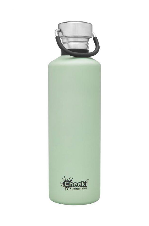 750ml Pistachio Reusable Water bottle Cheeki
