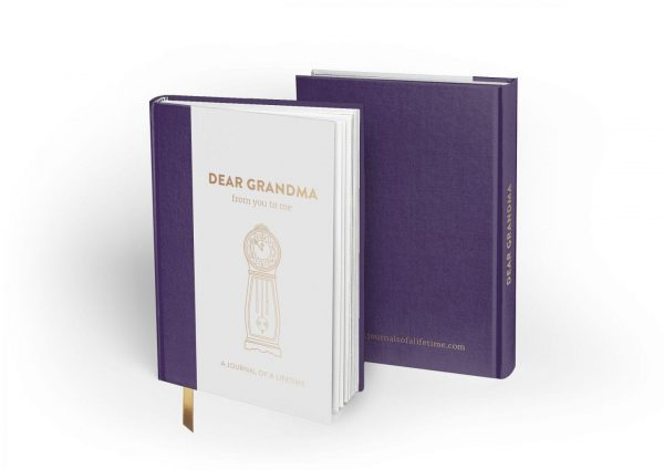 Dear Grandma (Timeless Collection) hardback memory journal