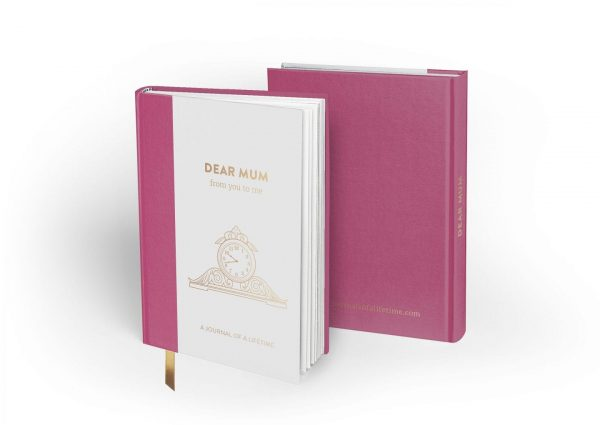 Dear Mum (Timeless Collection) hardback memory journal