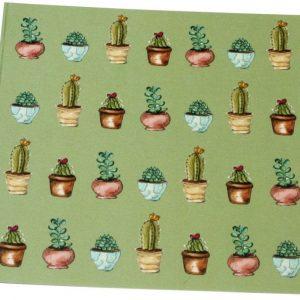 Cactus Card (blank inside)