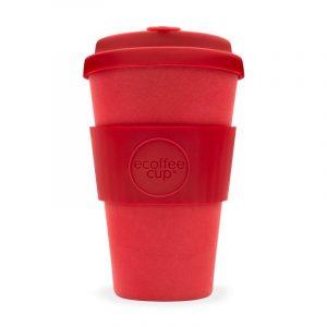 EcoffeeCup 14oz RedDawn Reusable