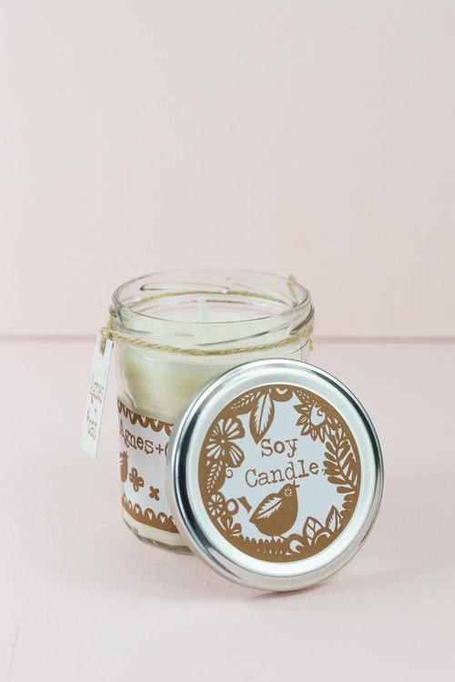 JamJar Candle - Coffee & walnut