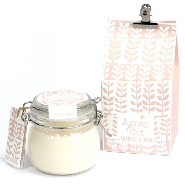 Soy wax candle Kilner Jar Candle - Japanese Bloom