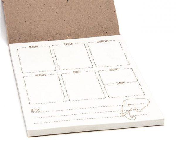 Elephant Dung Notebook/ Planner