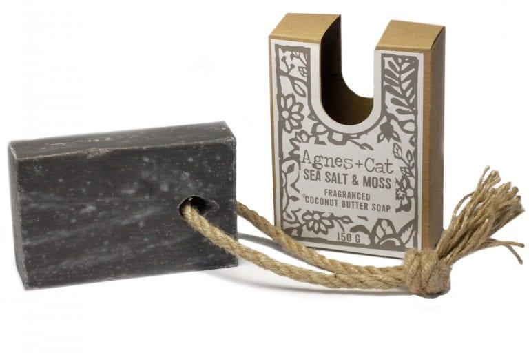 Sea Salt Soap on a rope