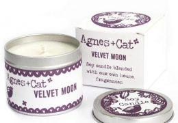 Soy Wax Tin Candle Velvet Moon