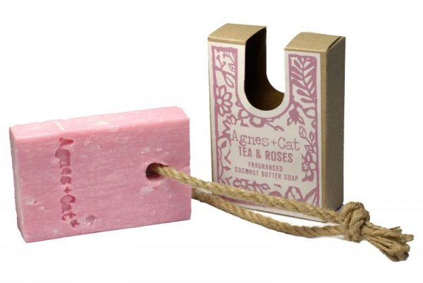 Tea & Roses Soap on a Rope