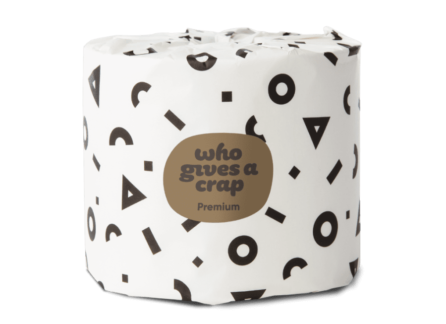 Premium Bamboo Toilet Paper - Double Length