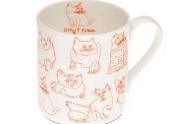 Cats Fine Bone China Mug