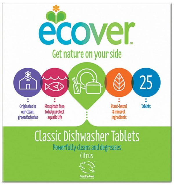Ecover Dishwasher Tablets (25s)