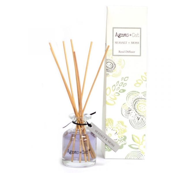 140ml Reed Diffuser - Seasalt and Moss