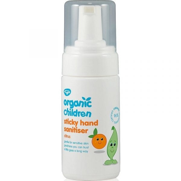 Green People Childs Sticky Hands Sanitiser