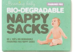 Beaming Baby Bio-Degradable Nappy Sacks - Fragrance Free 1 19.45 10 42115