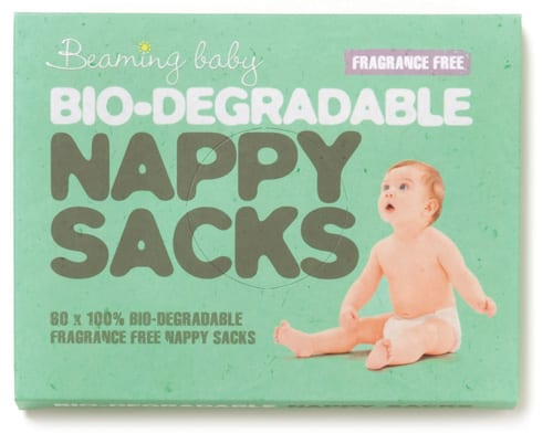 Beaming Baby Bio-Degradable Nappy Sacks - Fragrance Free 1 19.45 10 42115