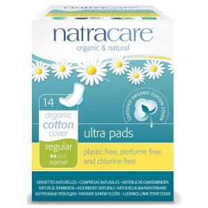 Natracare Natural Ultra Pads Regular with wings (14s)