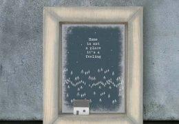 Box frame-Home is a feeling