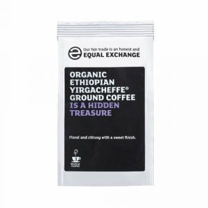Equal Exchange Roast Ground Ethiopian Yirgacheffe Coffee