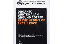 Equal Exchange Roast Ground Guatemalan Coffee