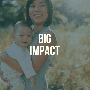 From Babies with love big impact