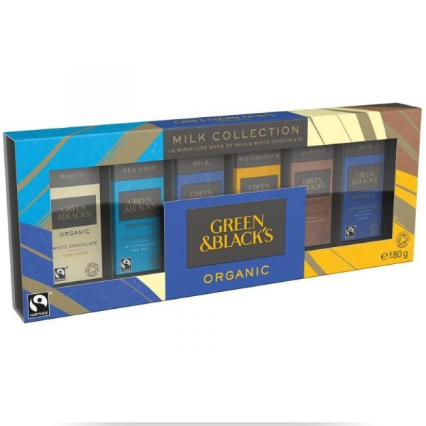 Green & Blacks Milk Miniature Bar Collection