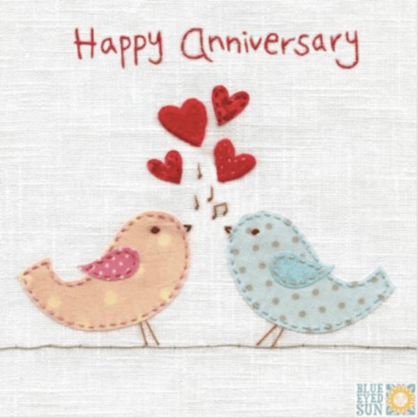 Happy Anniversary Birds