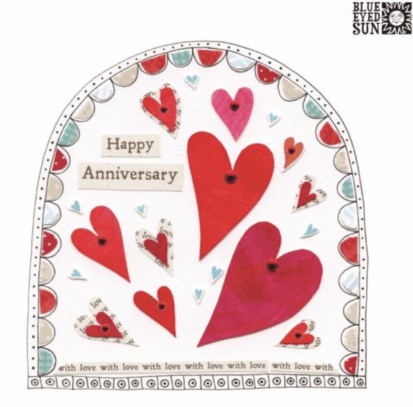 Happy Anniversary Card - Fiesta