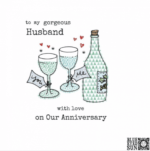 Happy Anniversary Gorgeous Husband