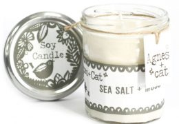 JamJar Candle - Seasalt and Moss