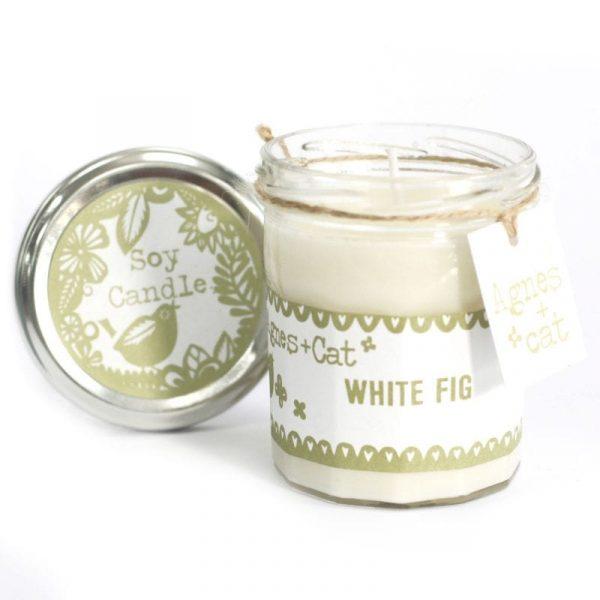 JamJar Candle - White Fig