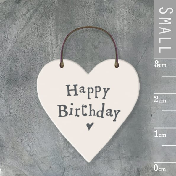 Little heart sign-Happy birthday