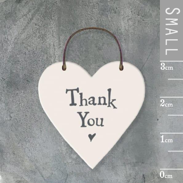 Little heart sign-Thank you