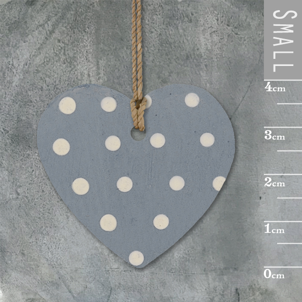 Little round heart-Dark blue