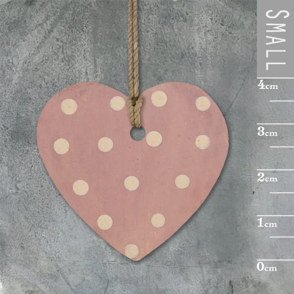 Little round heart-Pink