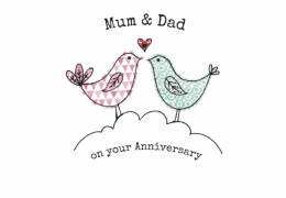 Mum and Dad Anniversary Card